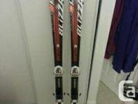 2012 Snowstorm SLR 160cm.  Great skis! Utilized simply