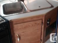 Slumber Queen 9 foot camper, 4 burner stove, oven, 3
