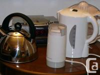 Brand new or slightly used small appliances for sale