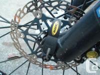 small carbon mountain bike, 27 lbs, full xtr,