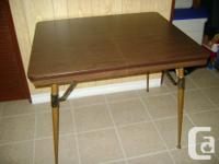 This little table would be outstanding for a small