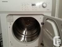 - Front packing Samsung dryer bought new three years