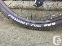 """-Size Small -29"""" Wheels (Tires: Schwalbe Nobby Nic)"""