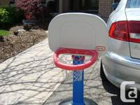 Small Childs Little Tikes Basketball Net - It is for