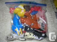 SMALL MIXER TOYS. I have 6 lots with 1 lot of 17, 4