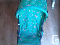 Small Stroller for sale in good condition. It is unisex