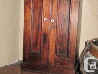All Walnut wood - not veneer. Mid-19th Century. English