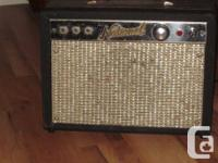 Vintage National 1210 made by Valco -1x8 all original