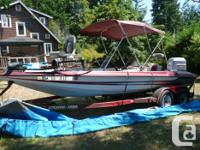 21' Stratus- Speed ,Ski , BassBoat with Low Hrs 200 HP