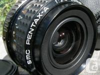 Up for sale is a very nice minty SMC Pentax-A 28mm f2.8