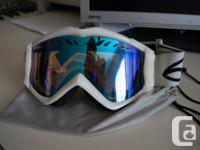 "I'm selling a pair of white Smith, ""Fuse"" series,"