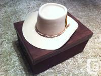 authentic woman's style stampede hat, bought originally