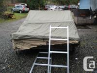 Tent is in great condition, came with a truck I