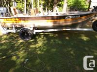 Cigarette smoker Craft 14 FT Fishing Boat with 28