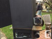 FREE smoker - set up for hot or cold smoking Out on