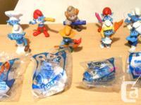 Smurf Toy Amounts.    40 Original Smurf plaything