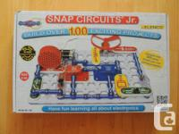 Snap Circuits Jr. excellent complete condition. As new,