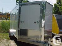 2014 Snopro 7 x 22 4 Place Trailer # 3234Contact: