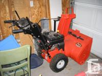 "For sale, a model 927LE Ariens ""Snow King"" snowblower."
