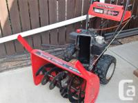 Mastercraft 2 stage snow blower 10HP Tecumseh motor 30""