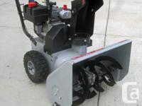 Craftsman 22-inch Dual Stage Snow Thrower for Sale.