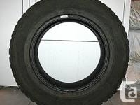 Set of Four Pacemark Snowtracker ST2 tires suitable for