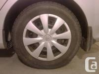 Snow Tires Mounted on Steel Rims  BF Goodrich Slalom