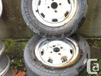 Combination of Uniroyal and Hallmark M&S Tires 175/70