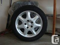 Mercedes winter snow tires for sale.  Set of 4, come