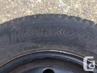 I got a set of hankook snow tires on steel wheels, came