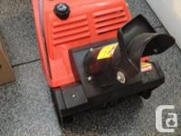 2-Cycle Simpleness Snowblower available. We recently