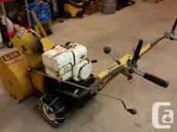 "24"" 2 stage Mastercraft snowblower. New main axle and"