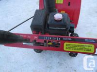 Power Smart snowblower with electric starter. 212 cc (5