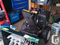 Yardworks 357cc/ 30-in PowerMore ® OHV Snowthrower.
