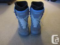 I have a lightly used pair of Vans snow boarding boots