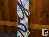 Selling my daughter's beautiful snowboard and size 8