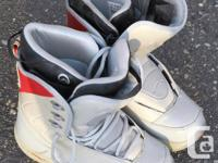 Guy's Ride Snowboard Boots. Boots are general in great