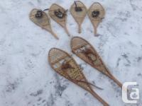 3 pairs of snowshoes ( 75 for all three ) I inherited