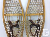 Snowshoes bought from Hudson Bay Co. 1967 ,Handmade by
