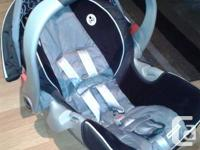 I am selling a Snugride 35 car seat for $60.00 firm It