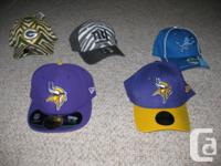 NEW HATS. BY NEW PERIOD. VIKINGS MATCHED 71/4 $25.
