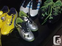 Soccer Cleats / Shoes..USED and NEW...Huge for sale  British Columbia