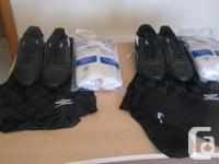 Soccer equipment available fit:. -2 set football cleats