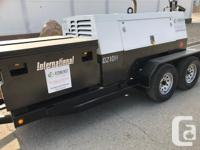 Stripco Soda Blaster and 2 axle Falcon Trailer for