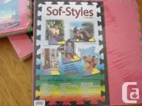 Sof-Styles Reversible interlocking Foam Mat NEW in