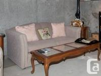 Sofa and love seat for sale. Excellent condition,
