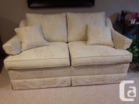 """Sofa (35"""" wide X 84"""" long) and Love Seat (35"""" wide X"""