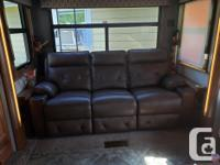 Theatre recliner sofa and loveseat with heat, massage,