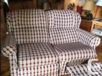 La-Z-Boy sofa bed (queen size) and matching love seat