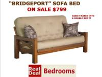 The Bridgeport offers a beautiful solid wood design